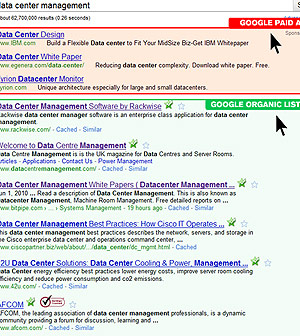 seo google screen shot small
