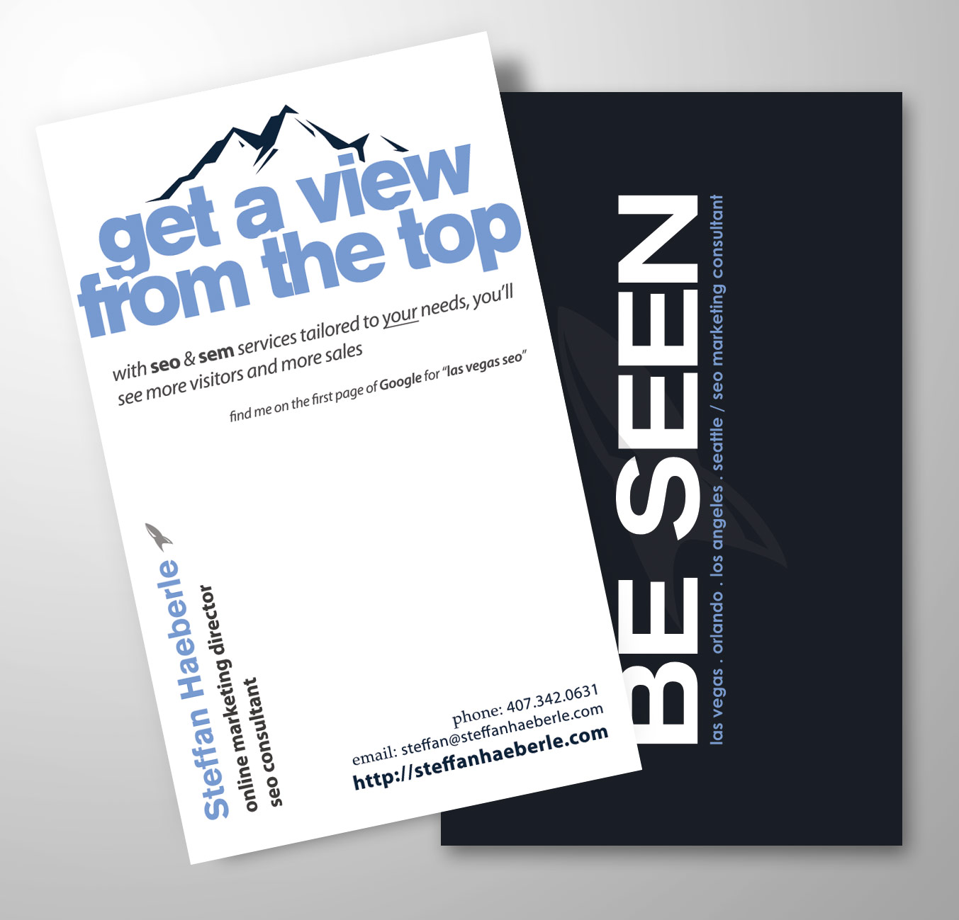 New SEO Business Cards